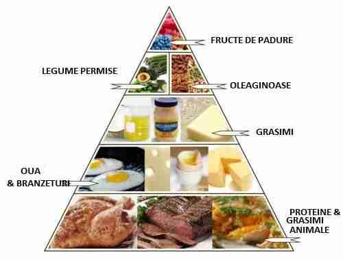 dieta ketogenica lista alimente permise